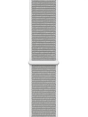 Смарт-часы Apple Watch Series 4 (GPS) 44mm Silver Aluminum w. Seashell Sport Loop