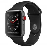 Смарт-часы Apple Watch Series 4 (GPS) 40mm Space Gray Aluminum w. Black Sport Band (MTVD2)