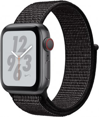 Смарт-часы Apple Watch Nike+ Series 4 GPS + LTE 40mm Gray Alum. w. Anthracite/Black Nike Sport b. (MTX92)