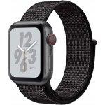 Смарт-часы Apple Watch Nike+ Series 4 GPS + LTE 40mm Gray Alum. w. Anthracite/Black Nike Sport b. (MTX92)