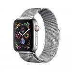 Смарт-часы Apple Watch Series 4 GPS + LTE 44mm Steel w. Milanese l. (MTV42/MTX12)
