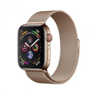 Смарт-часы Apple Watch Series 4 GPS + LTE 40mm Gold Steel w. Milanese l. (MTUT2/MTVQ2)