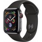 Смарт-часы Apple Watch Series 4 GPS + LTE 40mm Black Steel w. Sport b. (MTUN2/MTVL2)