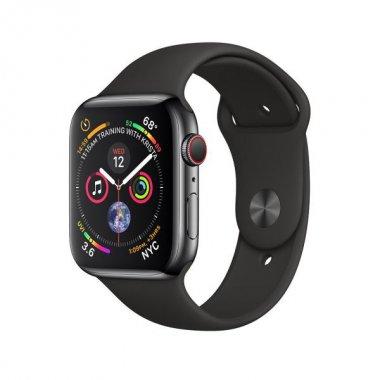 Смарт-часы Apple Watch Series 4 GPS + LTE 44mm Black Steel w. Sport b. (MTV52/MTX22)