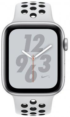 Смарт-часы Apple Watch Nike+ Series 4 GPS + LTE 44mm Silver Alum. w. Platinum/Black Nike Sport b. (MTXC2)