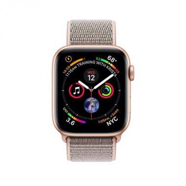 Смарт-часы Apple Watch Series 4 GPS + LTE 40mm Gold Alum. w. Pink Sand Sport l. (MTUK2/MTVH2)