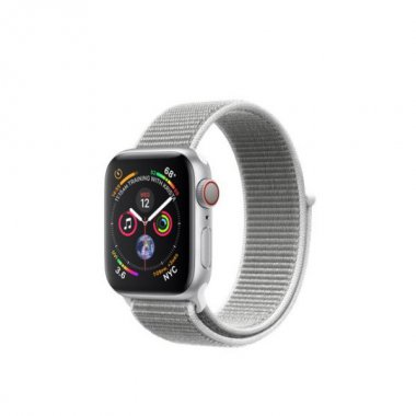 Смарт-часы Apple Watch Series 4 GPS + LTE 40mm Silver Alum. w. Seashell Sport l. (MTUF2)