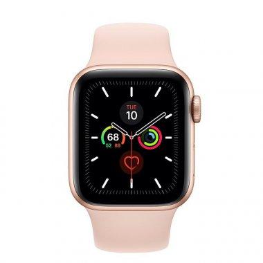 Смарт-часы Apple Watch Series 5 GPS 40mm Gold Aluminum w. Pink Sand b.- (MWV72)