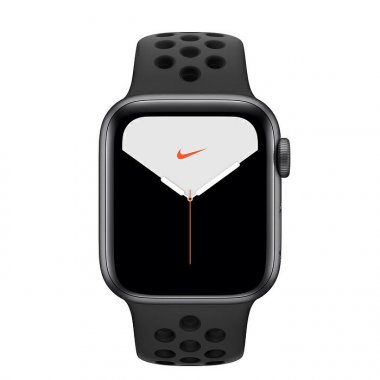 Смарт-часы Apple Watch Nike Series 5 GPS 44mm Space Gray Aluminum w. (MX3W2)