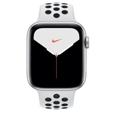 Смарт-часы Apple Watch Nike Series 5 GPS 44mm Silver Aluminum w. (MX3V2)