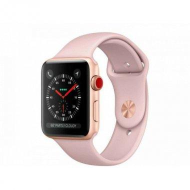 Смарт-часы Apple Watch Series 5 LTE 40mm Gold Aluminum w. Pink Sand b.- (MWWP2/MWX22)