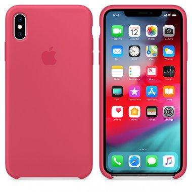 Чехол iPhone Xs Max - Silicone Case Hibiscus (MUJP2)