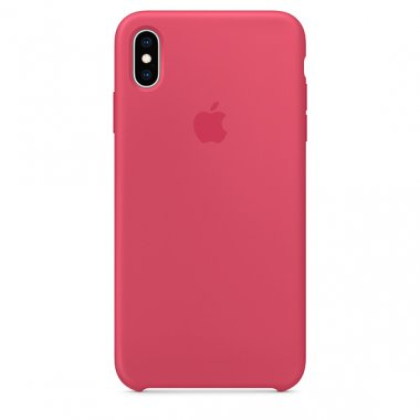 Чехол iPhone Xs - Silicone Case Hibiscus (MUJT2)