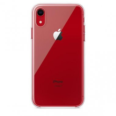 Чехол iPhone Xr - Silicone Case Clear (MRW62)