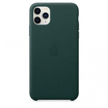 Чехол для смартфона Apple iPhone 11 Pro Max Leather Case - Forest Green (MX0C2)