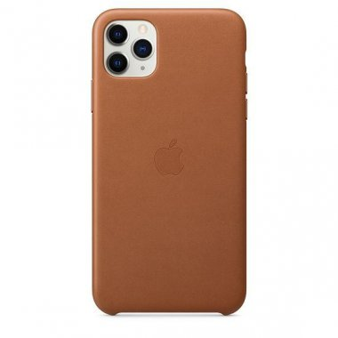 Чехол для смартфона Apple iPhone 11 Pro Max Leather Case - Saddle Brown (MX0D2)