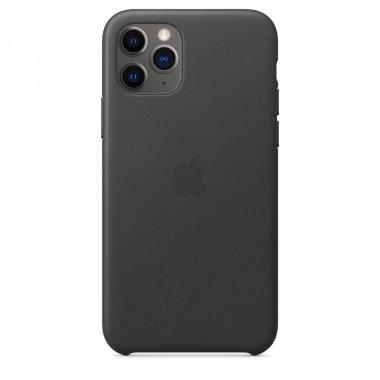 Чехол для смартфона Apple iPhone 11 Pro Leather Case - Black (MWYE2)