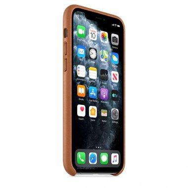 Чехол для смартфона Apple iPhone 11 Pro Leather Case - Saddle Brown (MWYD2)