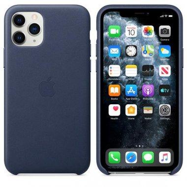 Чехол для смартфона Apple iPhone 11 Pro Leather Case - Midnight Blue (MWYG2)