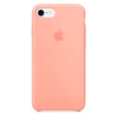 44quot 78 apple case chehol dlya iphone peach quot silicone