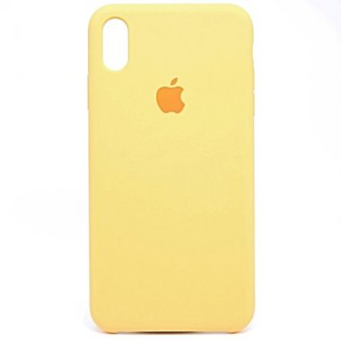 24quot apple case chehol dlya iphone quot silicone xr yellow