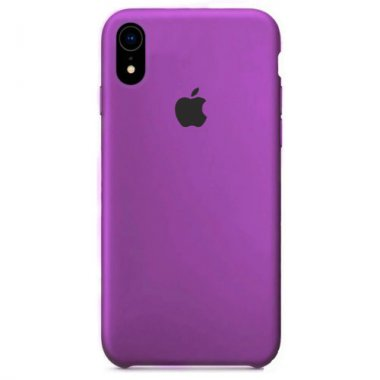 16quot apple case chehol dlya iphone purple quot silicone xr