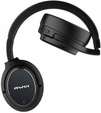 a950bl anc awei black earphones naushniki wireless