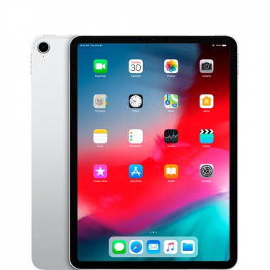 Планшет Apple iPad Pro 11 2018 Wi-Fi + Cellular 64GB Silver (MU0U2, MU0Y2)
