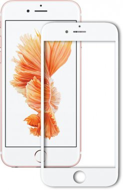 Защитное стекло Mocolo 2.5D Full Cover Tempered Glass iPhone 7 Silk White