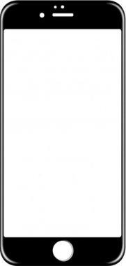 Защитное стекло TOTO 3D Full Cover Tempered Glass iPhone 6/6s Black
