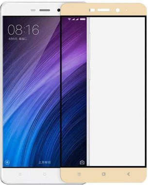 Защитное стекло TOTO 2.5D Soft Full Cover Tempered Glass Xiaomi Redmi 4/4 Pro Gold