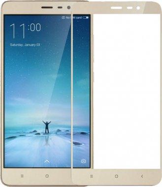 Защитное стекло TOTO 2.5D Full Cover Tempered Glass Xiaomi Redmi 3S (hard edges) Rose Gold