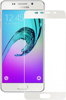 Защитное стекло TOTO 2.5D Full Cover Tempered Glass Samsung Galaxy A3 2016 White