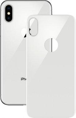 Защитное стекло Mocolo 3D Backside Tempered Glass iPhone X Silver