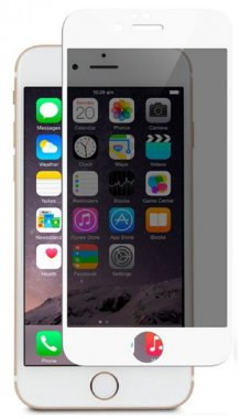 Защитное стекло Mocolo 3D Full Cover Tempered Glass iPhone 6/6s Plus Privacy White