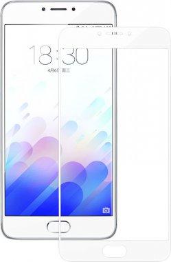 Защитное стекло TOTO 2.5D Full Cover Tempered Glass Meizu M3 Note (soft edges) White