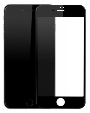 Защитное стекло Cooyee 2,5D Full Cover Silk Printed Tempered Glass Protector for iPhone 7 Plus Black