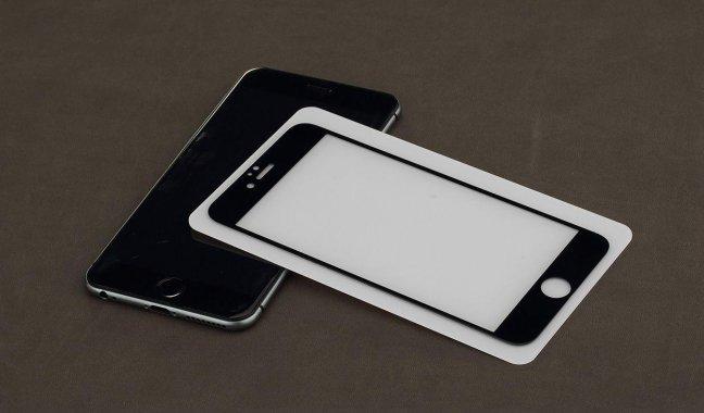 Защитное стекло Rock Full Screen Tempered Glass Protector with Anti-crack Edge iPhone 6/6S Black