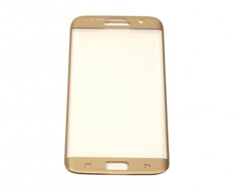 Защитное стекло 3D EDGE Samsung S8 Gold