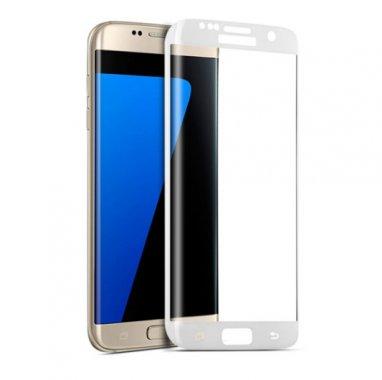 Защитное стекло 3D EDGE Samsung S8 Plus White