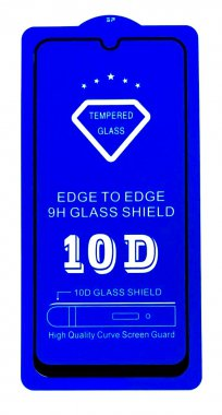 Защитное стекло 10D SLIM 0.2mm Xiaomi Mi 8 Lite Black