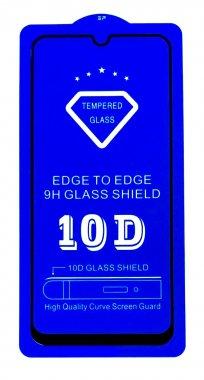 Защитное стекло 10D SLIM 0.2mm Samsung A8S Black
