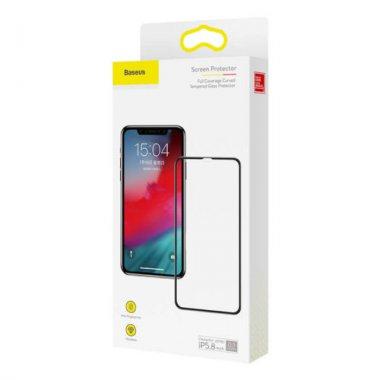 03mm 3dxsmax baseus black coverage dlya full iphone kc01 steklo zashhitnoe