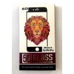 Защитное стекло 6D iPhone 6/6s Black