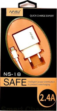 lightning naisu ns181usb24a plus port setevoe ustrojstvo white zaryadnoe