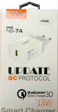 charge micro naisu ns7a1usb18w3024a plus port quick sable setevoe ustrojstvo white zaryadnoe