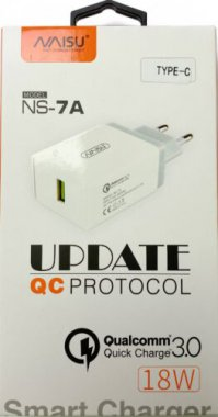 charge naisu ns7ac1usb18w3024a plus port quick sable setevoe type ustrojstvo white zaryadnoe