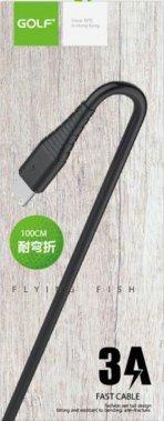 black cable gc64i1m golf kabel lightning