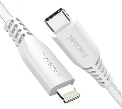 braided cable cto12m4ft double kabel lcc06 lightning nylon tronsmart type white