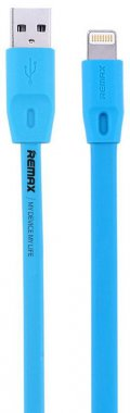 Кабель Remax Full Speed Lightning 1M Blue